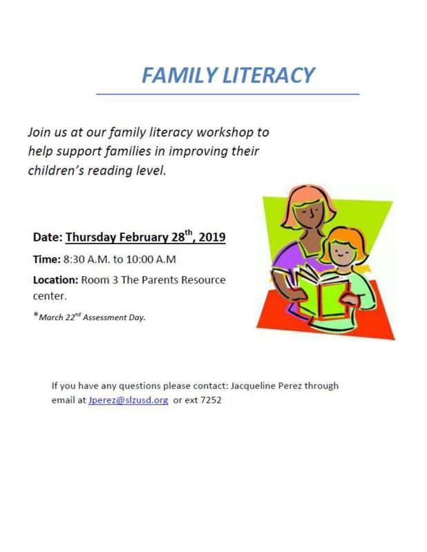 Family Literacy Featured Photo
