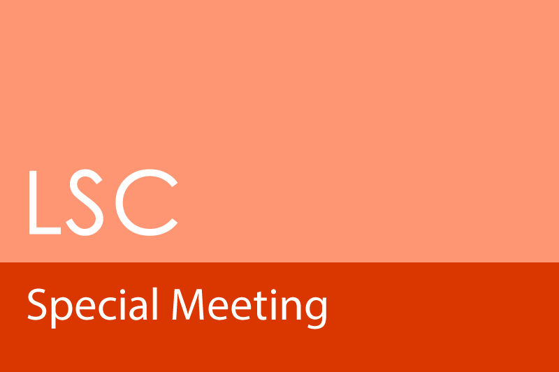 Image LSC Special Meeting