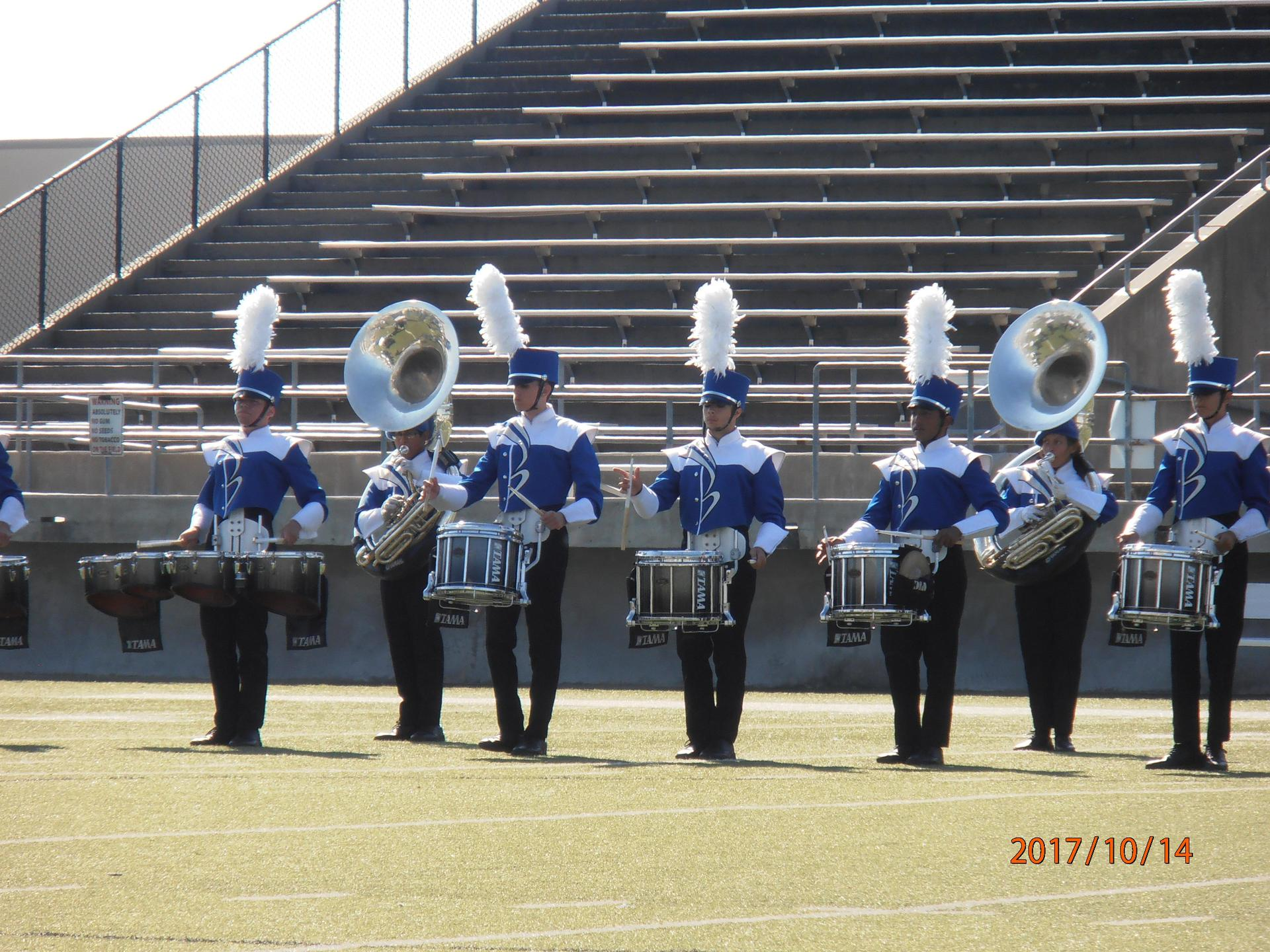 Band 2017 football season
