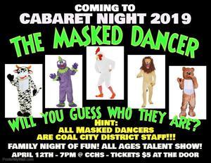 Clip art of Masked Dancer