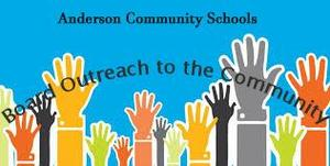 clipart of hands reaching upward, to promote the ACS Board Outreach meeting