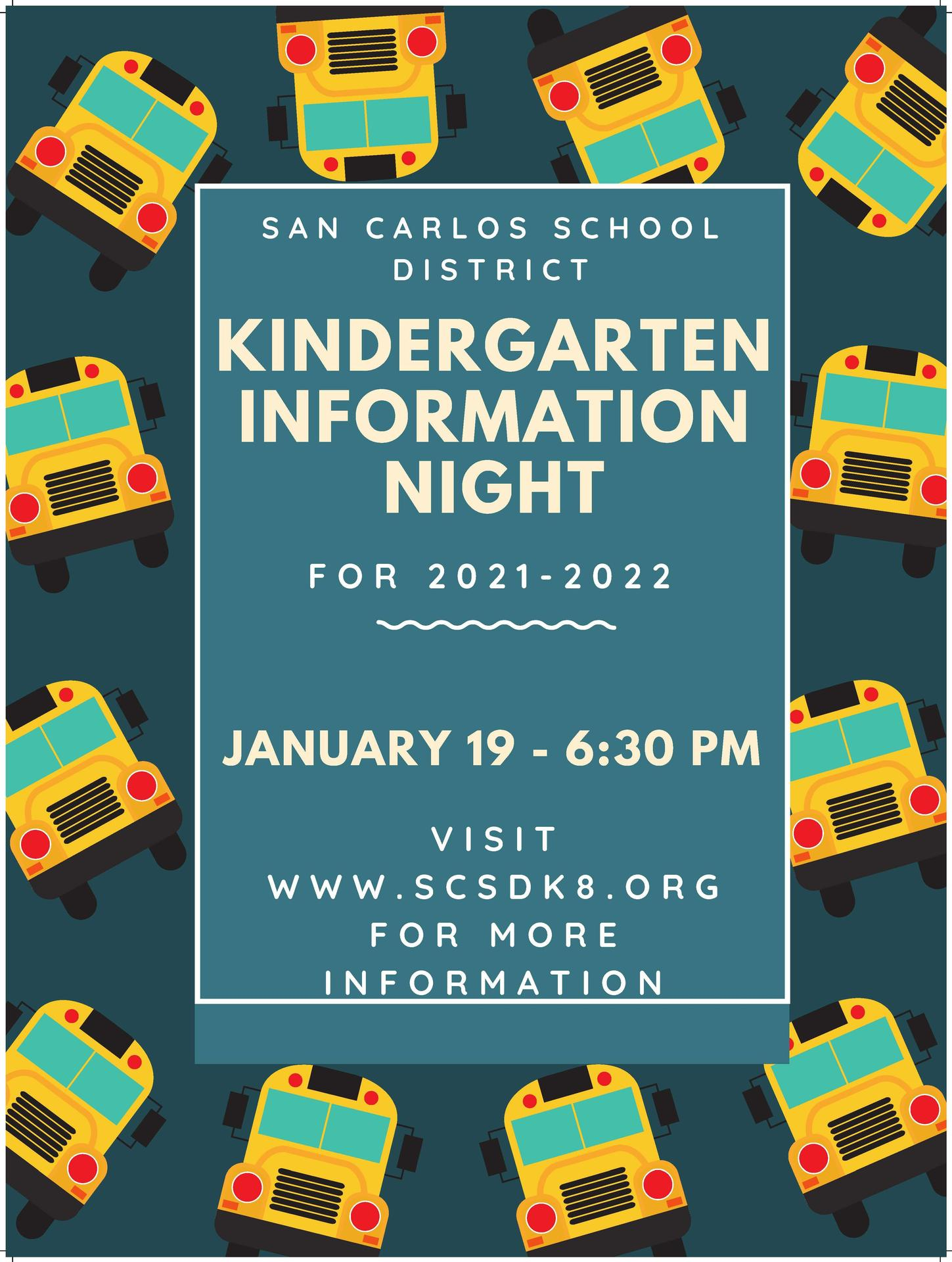 Kindergarten Information Night Image