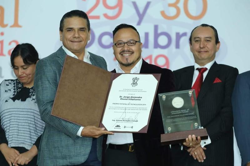 Investigador de CEDVA, Recibe Premio Estatal de Tecnología 2019 Featured Photo