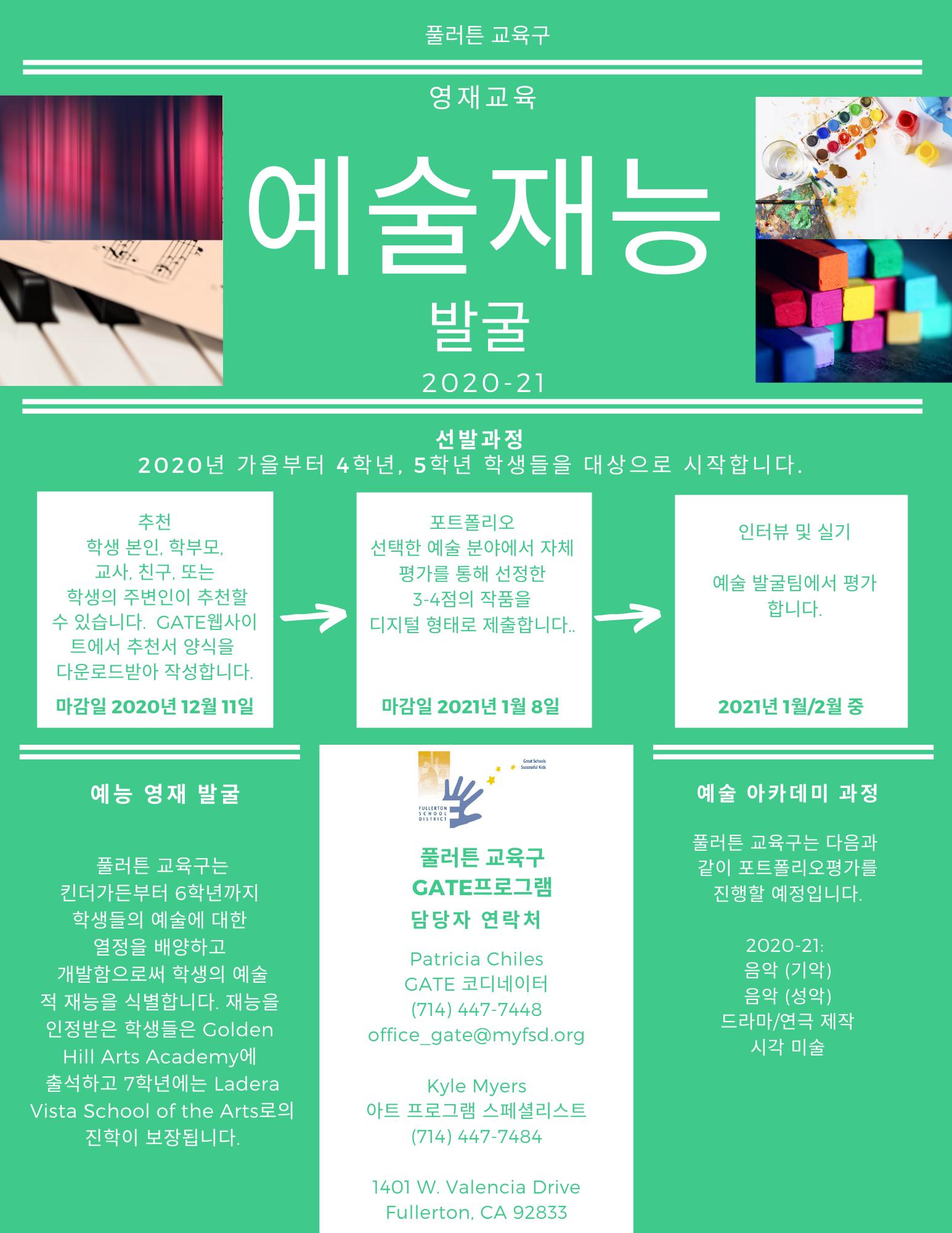 Arts ID Korean 1