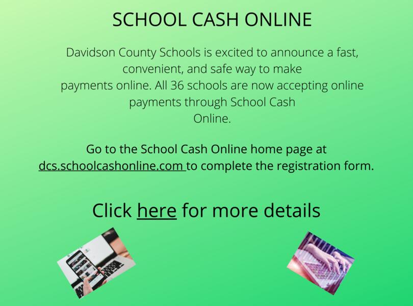 school cash info