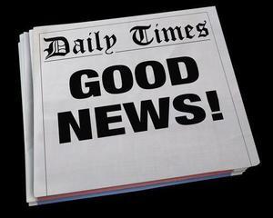 Image says Good News!