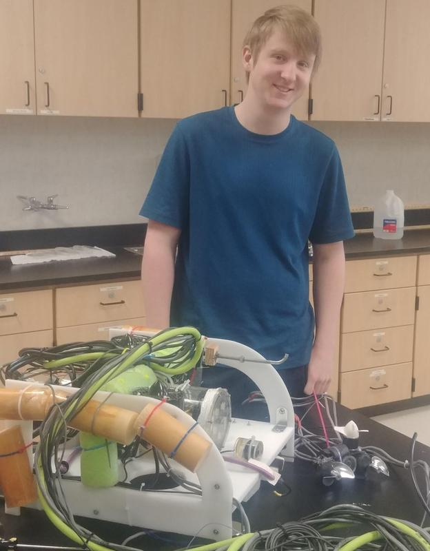Hans with his ROV
