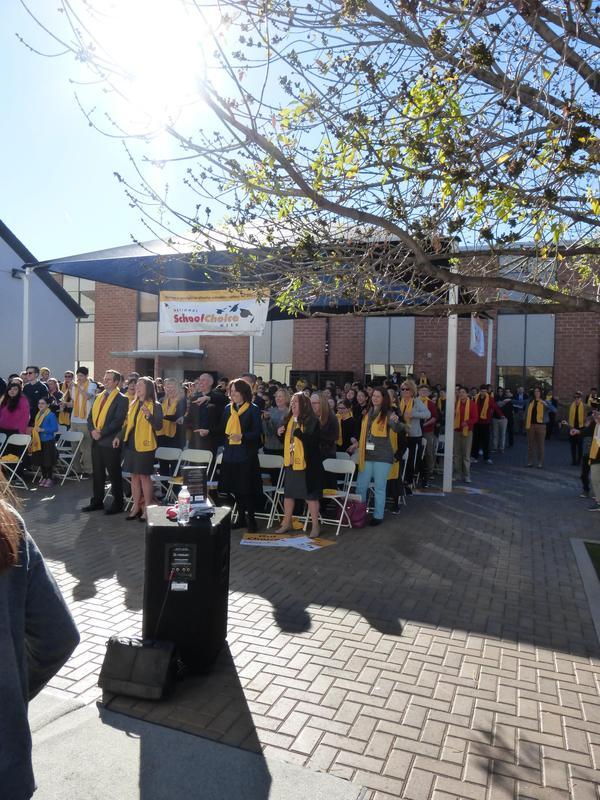 school choice rally