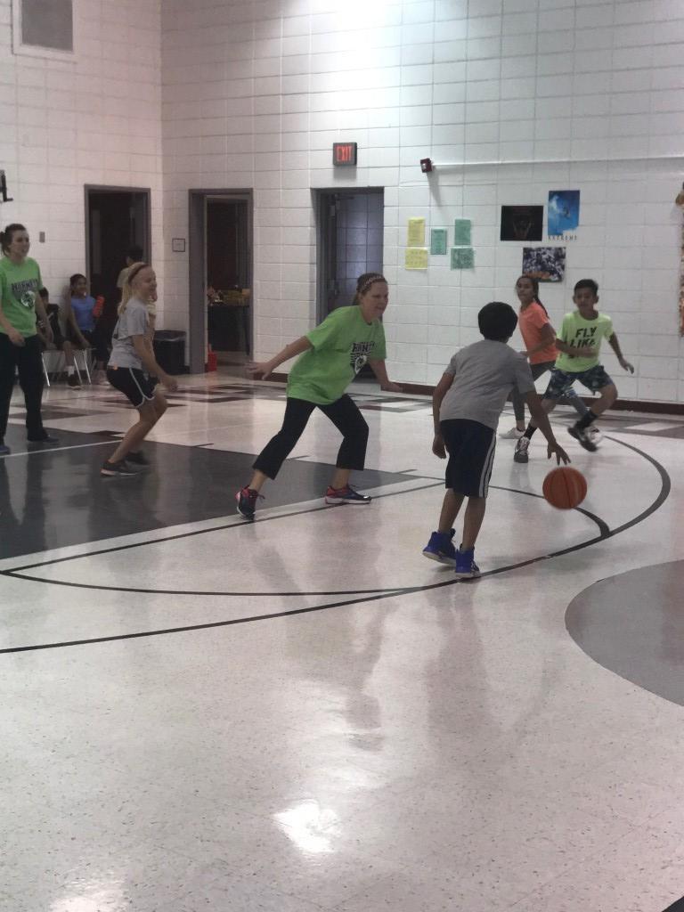 Teacher Vs. Student Basketball Game