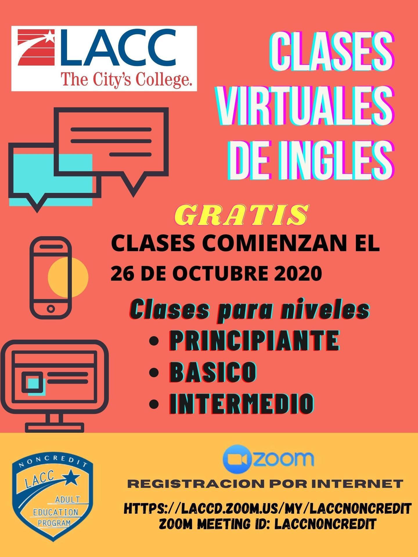 Clases Virtuales De Ingles