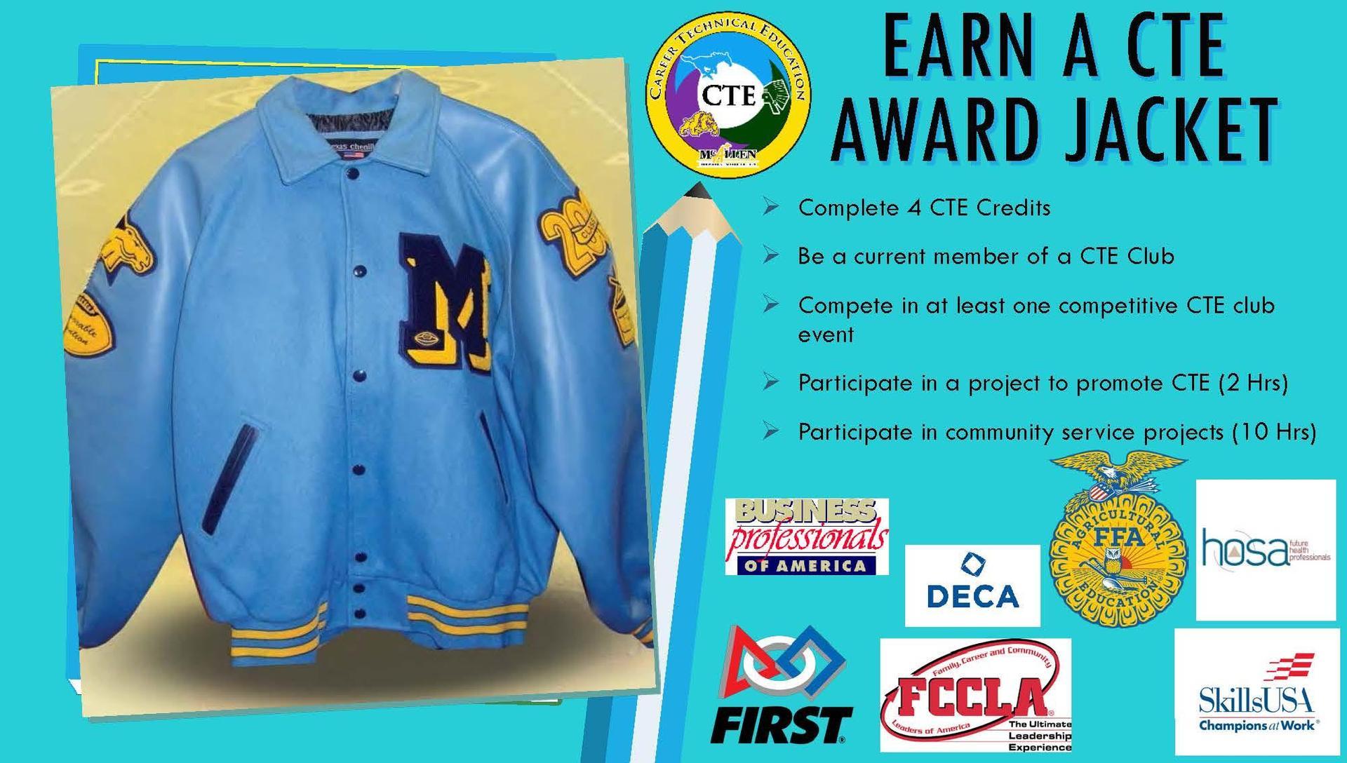 CTE Award Jacket