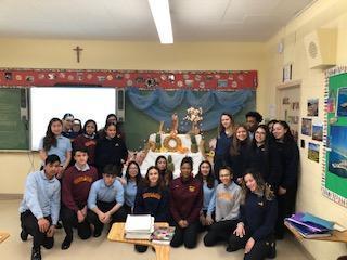 Mrs. Artale's Italian Class Honors St. Joseph Featured Photo