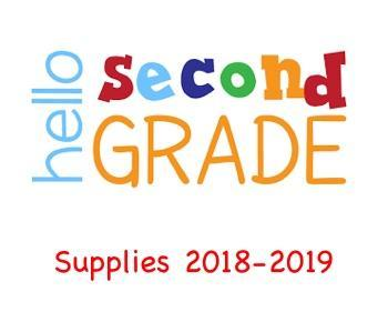 2nd grade supplies 2018-2019 icon/link