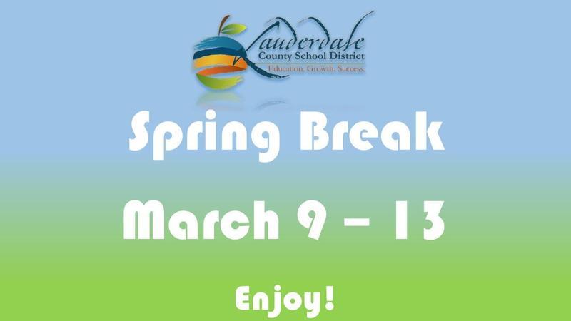 LCSD Spring Break Flyer