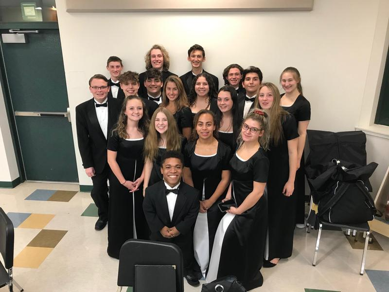 Pic of KHS Chamber Singers
