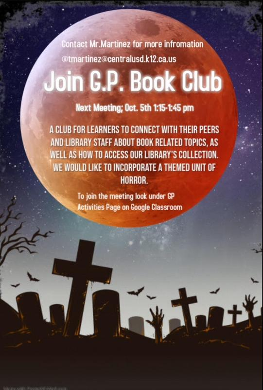 GP Book Club