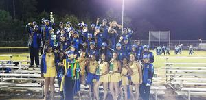 Marching band members