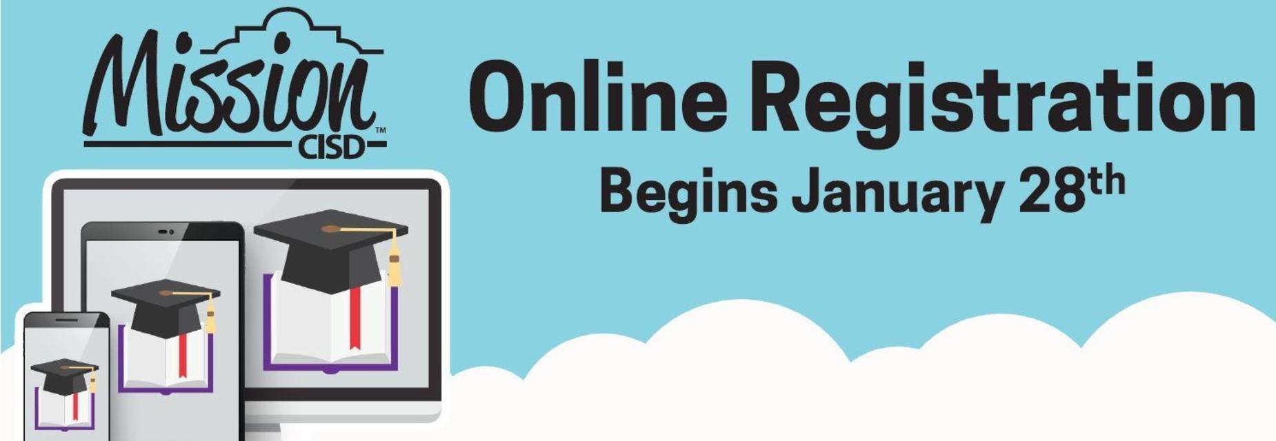 2019 Online registration