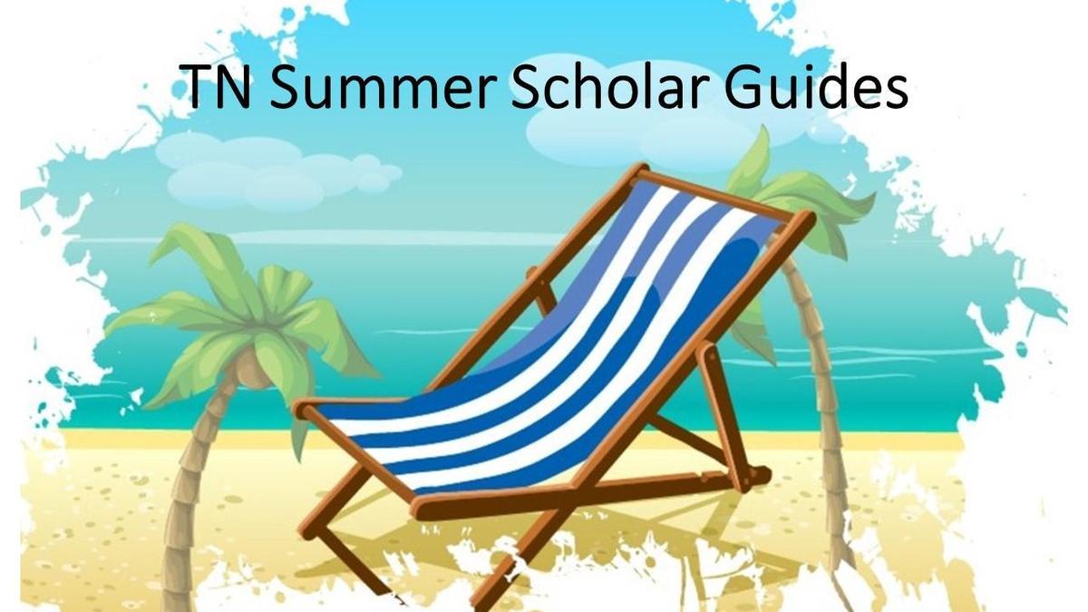 summer scholar guides