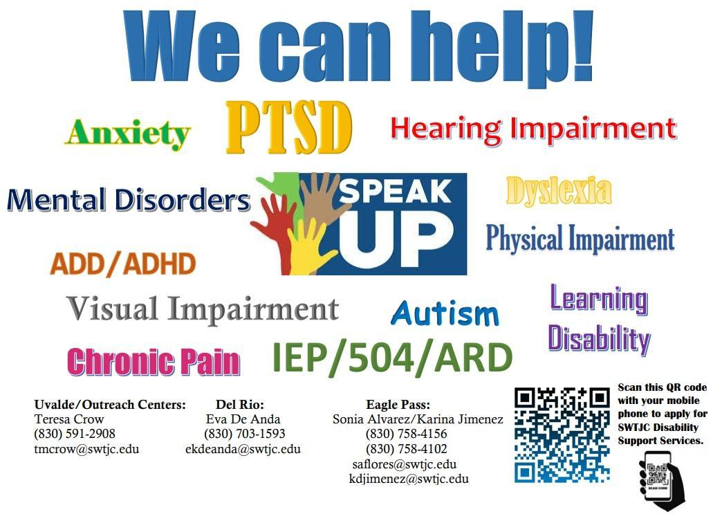 SWTJC Disability Support