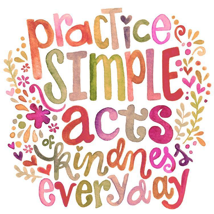 practice simple acts of kindness everyday