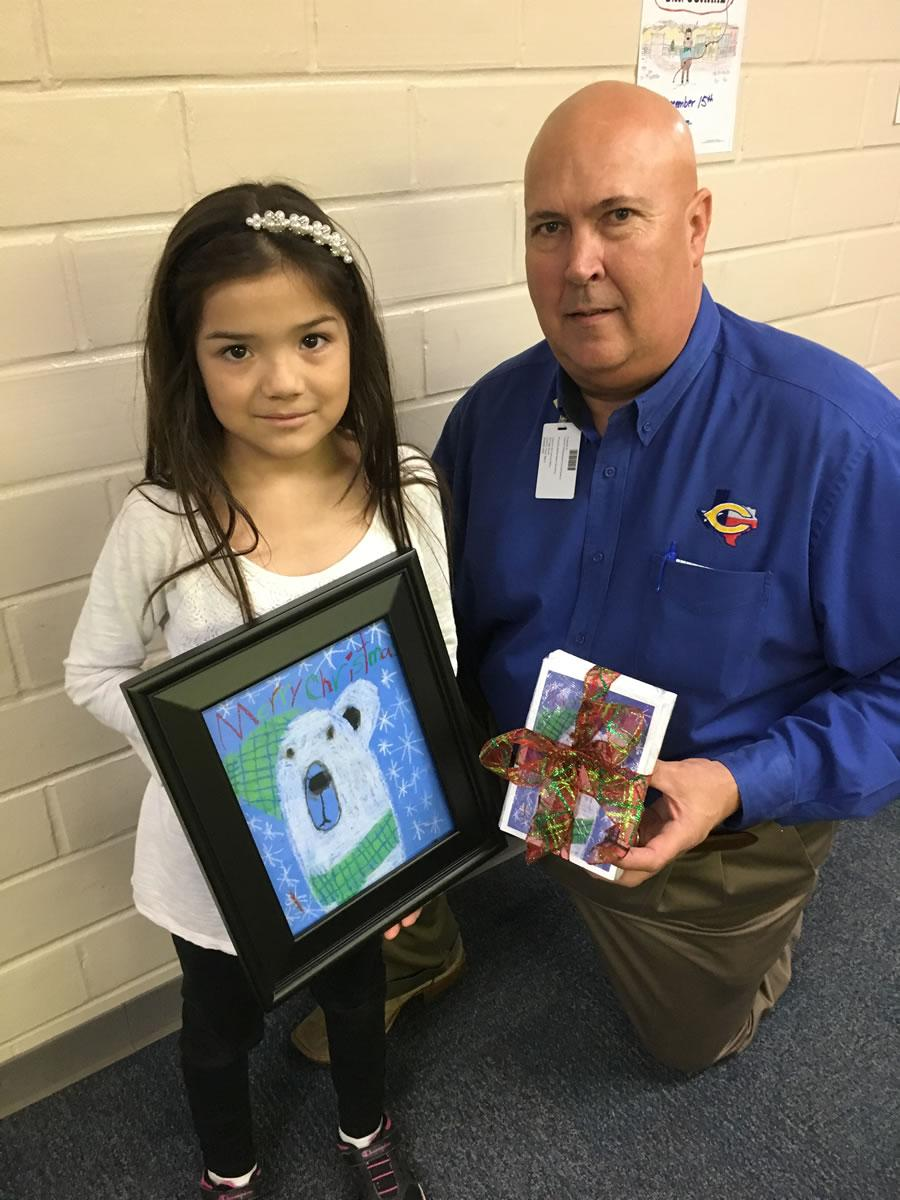 CES Christmas Card Contest Winner
