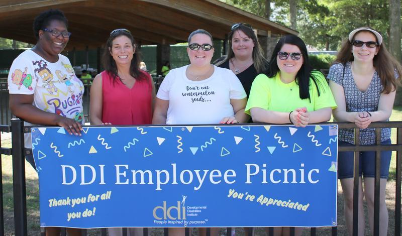 DDI HR Team at employee picnic