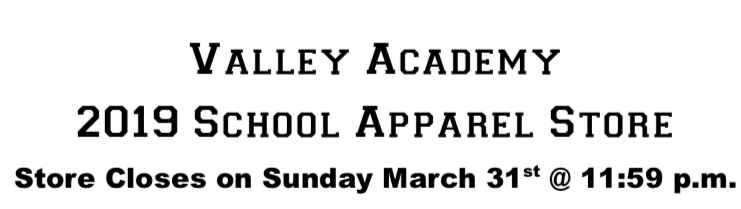 Valley School Apparel Store Featured Photo