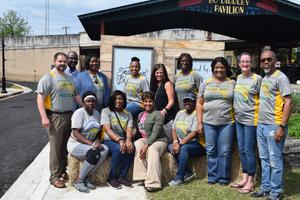 McComb School District Staff and Students participates in Community Cleanup!