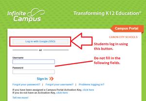 Campus student portal