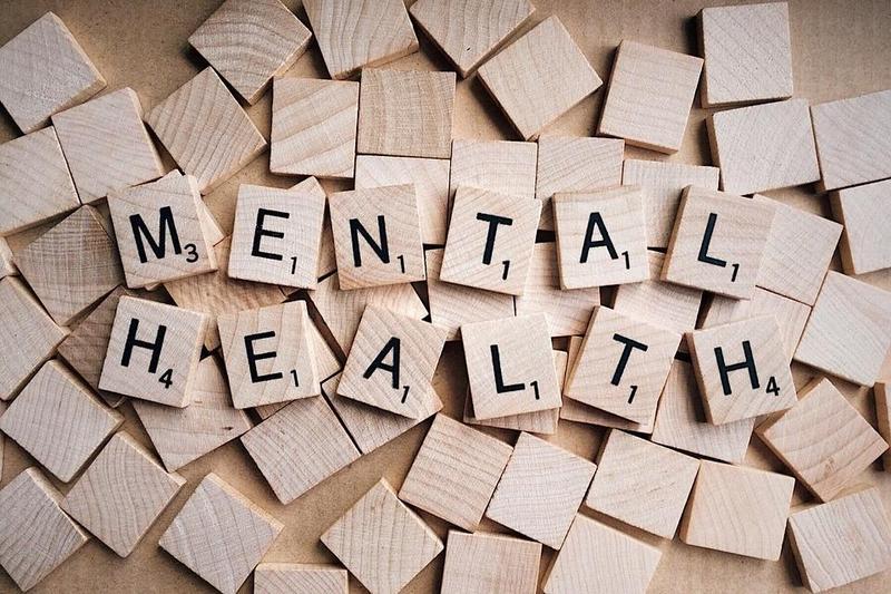 Mental Health scrabble spell
