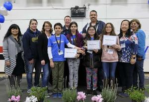 1st Place, 6th Grade - Golden Springs Angelina Carrillo, Kelly Greene, Ryan LeFevre-Dhore, Anjali LeFevre-Dhore #PROUD2bePUSD #MATHfieldDAY #STEAM #STUDENTSUCCESS