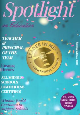 Spotlight on Education Cover Spring 2021 Edition