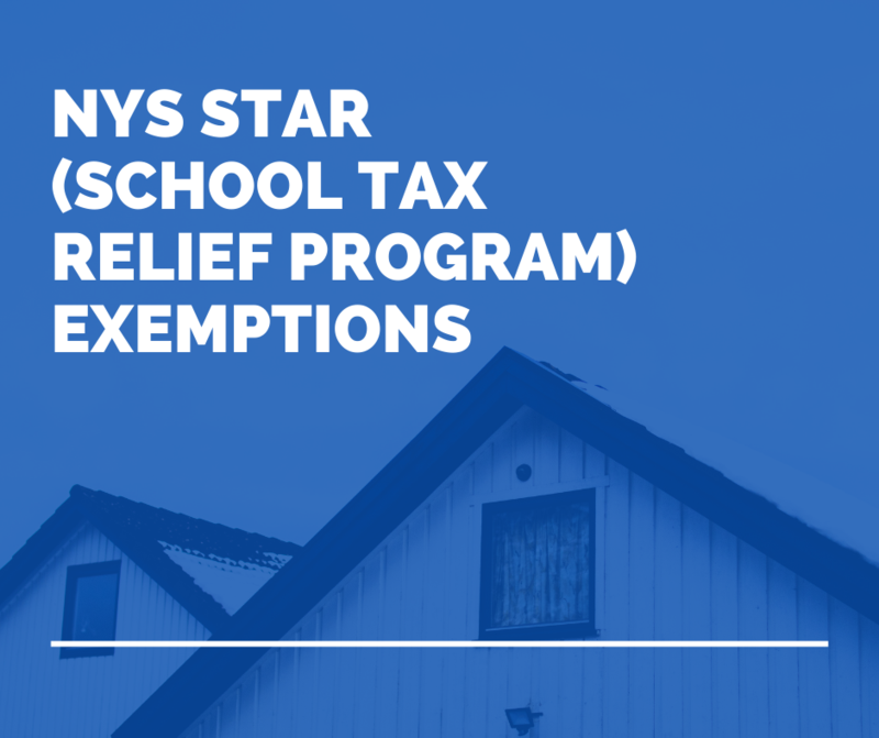 NYS STAR (School Tax Relief Program) Exemptions Featured Photo