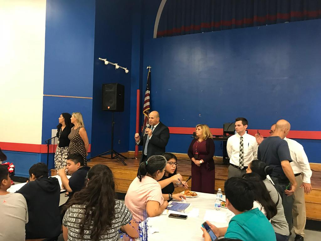 mr. aleman and the edison administration getting the parents attention