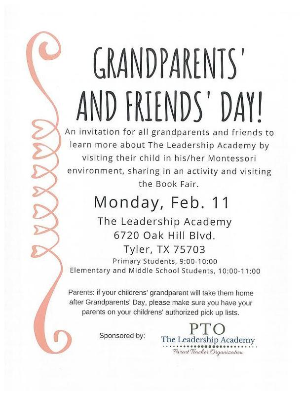 Grandparents' and Friends' Day! Featured Photo
