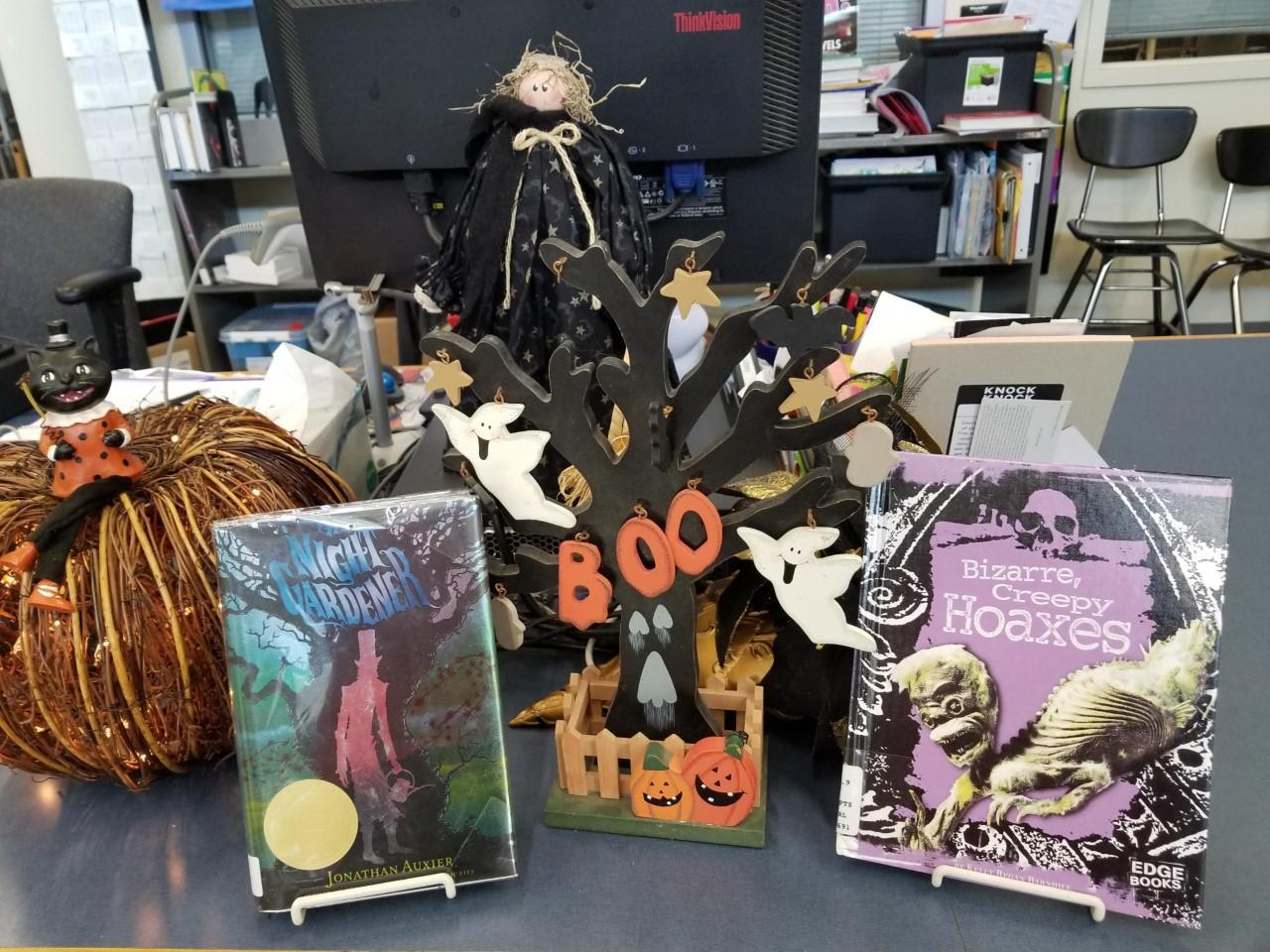 Come see our spooky reads!
