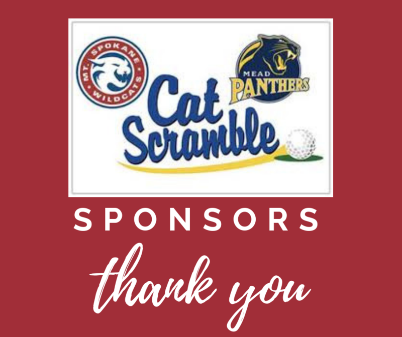 Thank you to the Cat Scramble Sponsors