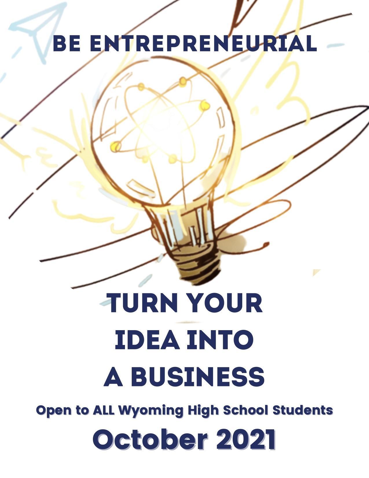 Be Entrepreneurial Program Flyer