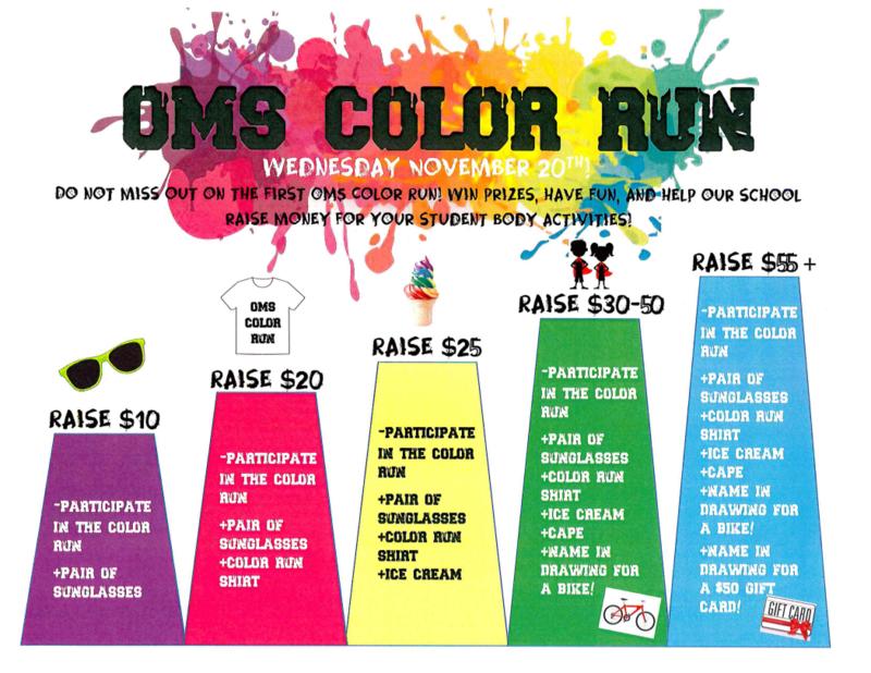 OMS Color Run Thumbnail Image
