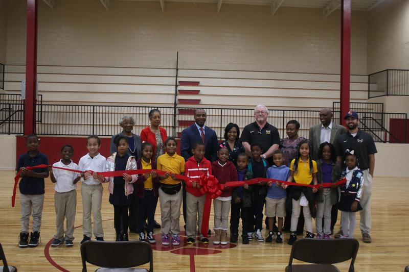 Rowan Elementary School Opens Doors to Newly Renovated Gym Featured Photo