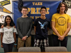 FRSH four National Merit Scholarship Semifinalists