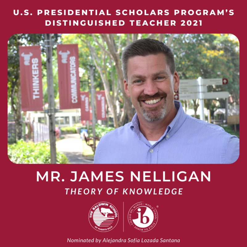 US Presidential Scholars Distinguished Teacher Featured Photo
