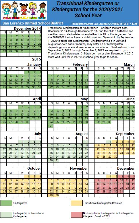 TK Calendar