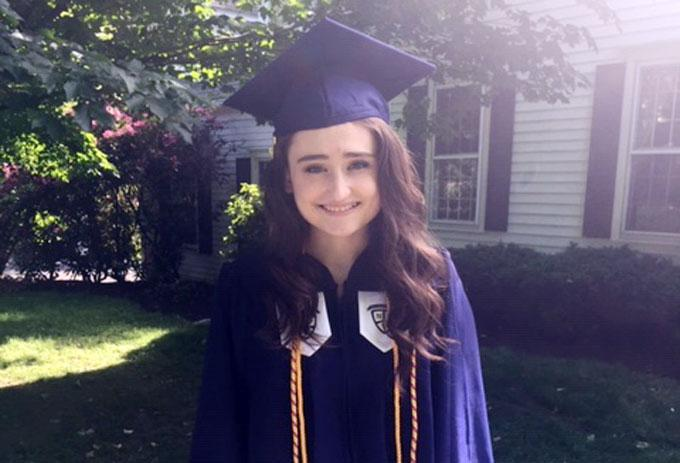 Another OLF Falcon becomes HS Valedictorian! Featured Photo