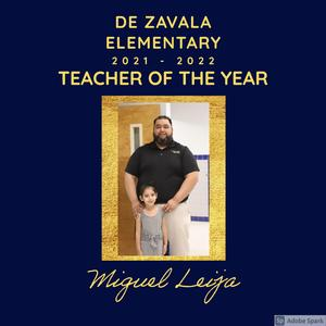 Teacher of the Year Photo