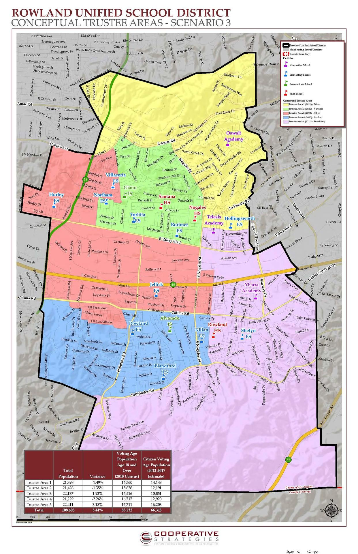Trustee Map