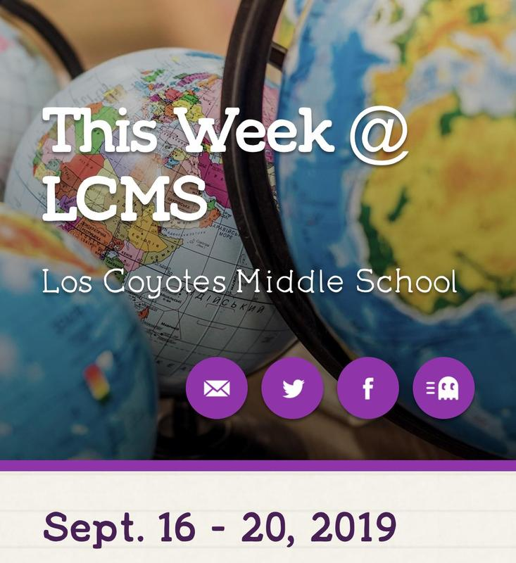 This Week @ LCMS Featured Photo