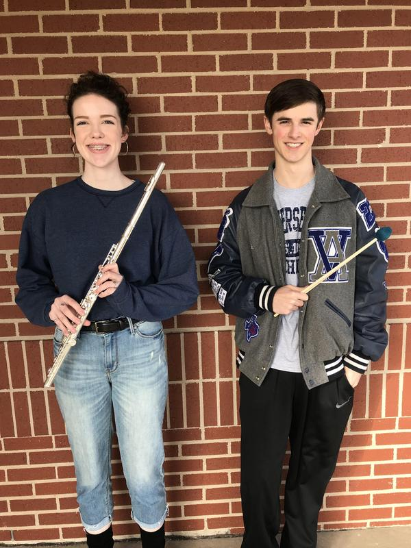 Chartier and Cavendar head to State for Band Thumbnail Image