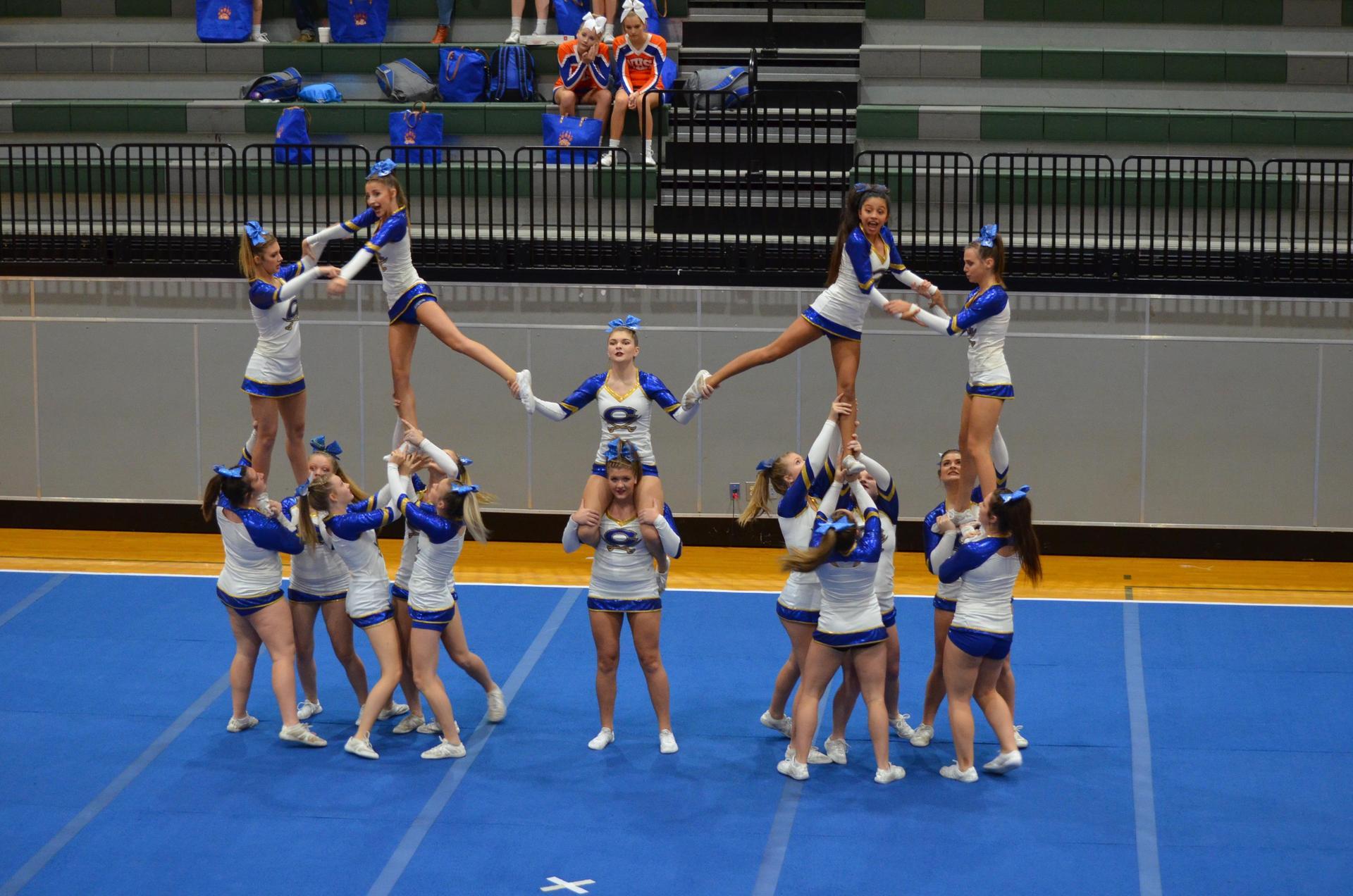 Cass High School Varsity Comp Cheer
